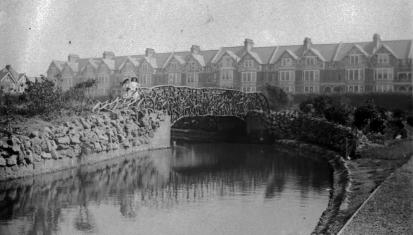 Egerton Park bridge c1905