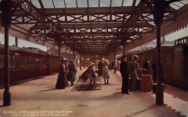 West Station c1905