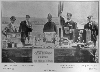 Bexhill Cycle Tournament Prizes 1897