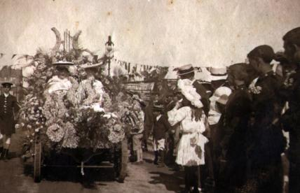 Bexhill Battle of Flowers 1904 races