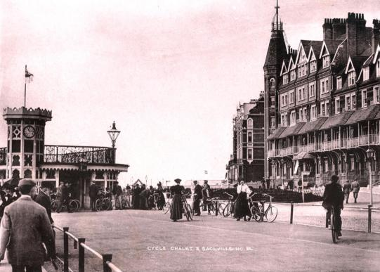 Bexhill Cycle track c1898 C