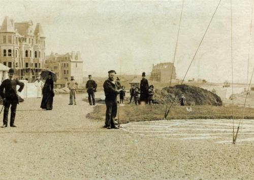 COA-001 - Coastguard Station, looking east c1894