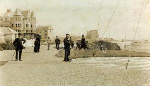 COA-001 - Coastguard Station, looking east c1894
