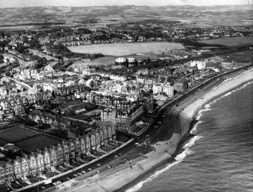 East Parade, Air Photo c1960