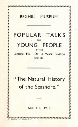 MUS-020 - Museum Talks at DLWP August 1936