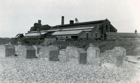 SHO-014 - Glyne Gap Gasworks, Bexhill c1952