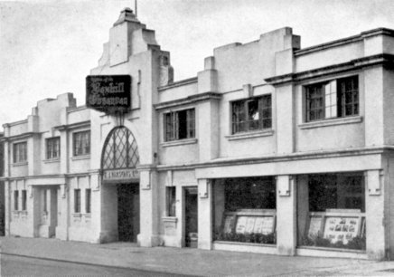 SHO-020 - Parsons Offices and Printing works, Western Road c1954