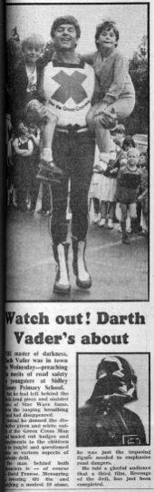 SID-038 - Darth Vader visits Sidley 9Bex Obs 26.6.19820