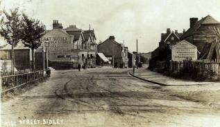 Sidley High Street 1909
