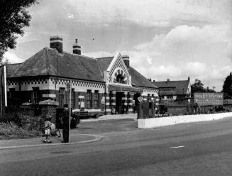 Sidley Station c1960