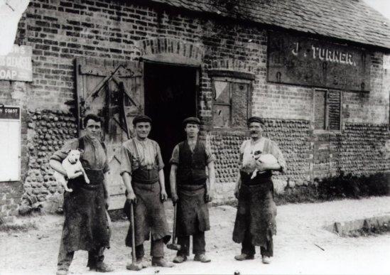 Sidley, Turner's Forge c1896