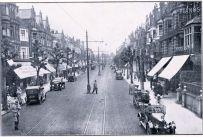 Tram in Devonshire Road c1927