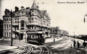 Tram on Marina c1908