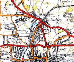 Sidley Station modern map