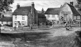 Belle Hill, drawing by Charles Graves, 1897