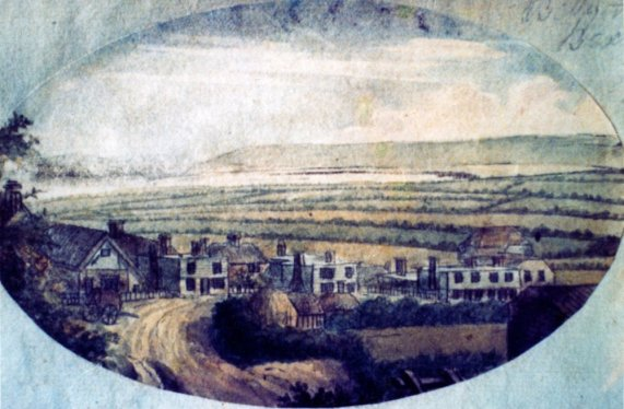 Belle Hill by Francis Grose, c1800