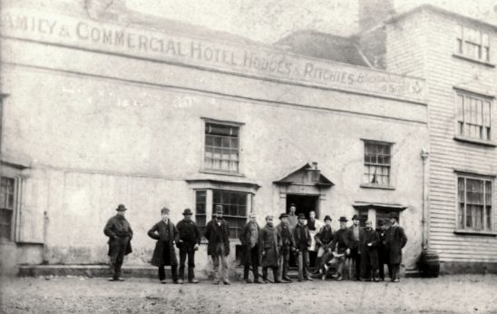 HOT-001 - Bell Hotel, Bexhill, 1879