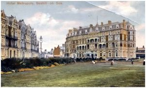 HOT-004 - Hotel Metropole, Bexhill - c1910