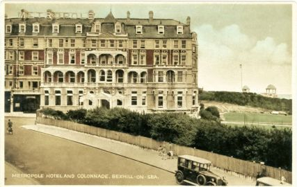 HOT-008 - Metropole Hotel and Colonnade, Bexhill - c1920