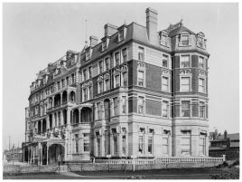 HOT-012 - Metropole Hotel from Bexhill seafront - c1900