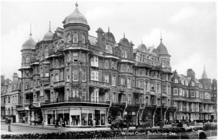 HOT-024 - Wilton Court Hotel, Bexhill, c1930