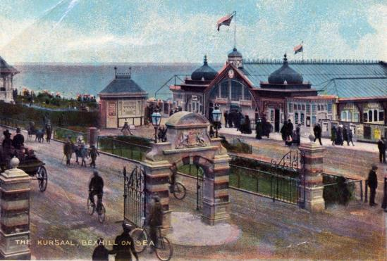 KUR-030 - The Kursaal & DLW Gates, c1910