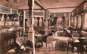 KUR-031 - Kursaal Moorish Lounge, c1910