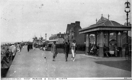 BWP-007 - West Parade, Bexhill - c1925