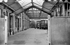 BW-056 - Looking west across the Bexhill West concourse in March 1968.