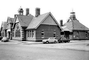 BW-057 - Bexhill West station seen from Terminus Road in March 1968.
