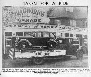 Waghorn's Hillman Minx