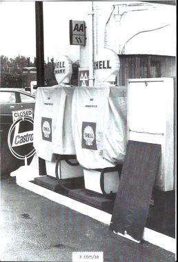 Garage during 1979 fuel crisis