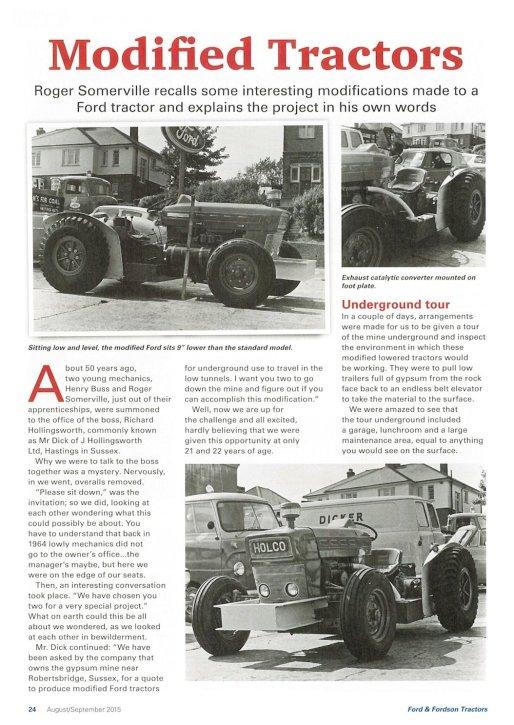 HO-021 - British Gypsum tractor article 1