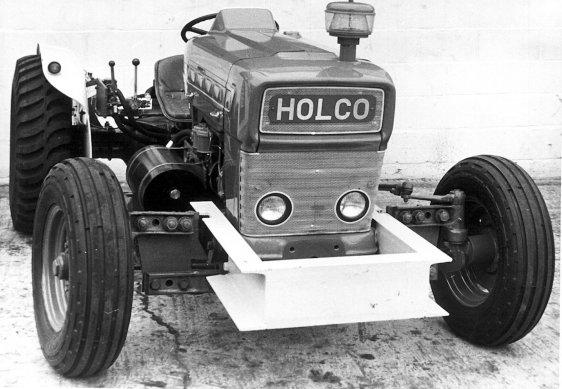 HO-053 - British Gypsum tractor Holco