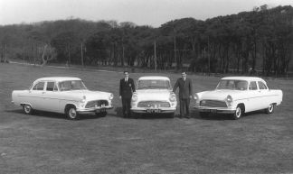 HO-062 - Three Ford Consuls in the 1960s