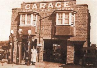 Prince's Garage, Mrs Easton c1934