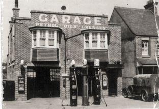 Princes Garage, Sandhurst Garage from the south
