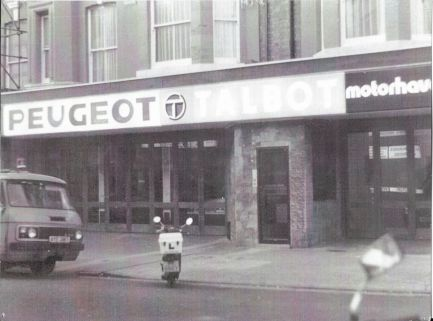SR27-006 - Became a Motorhaven branch under the Peugeot Talbot
