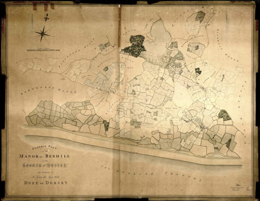 Duke of Dorset Map 1808aa