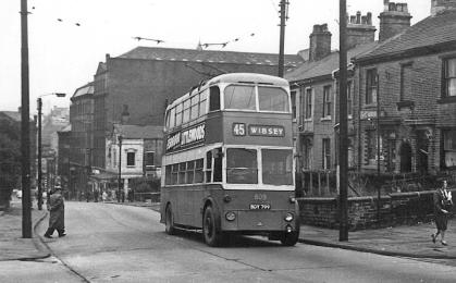 809 BDY799 servive 45 to Wibsey