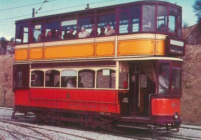 812 standard tram @ Crich