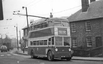 87 BDY810 serv to Barming exHastings 35