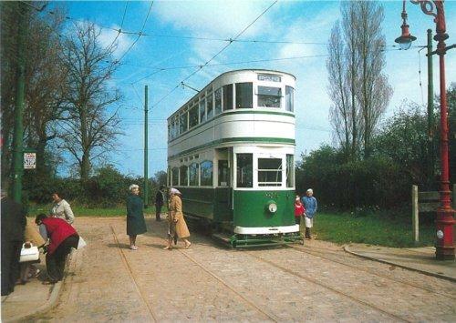 Blackpool 159 b1927 at terminus