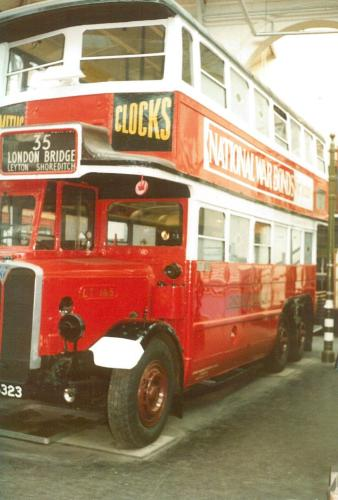 LT165 GK5323 b1931 w-d1949 AEC-Park Royal, Covent Garden Mus 17-9-1983