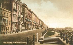 Marina, St Leonard's looking east coloured pc