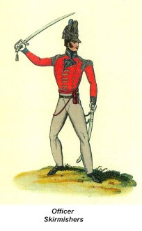 Officers - Skirmishers