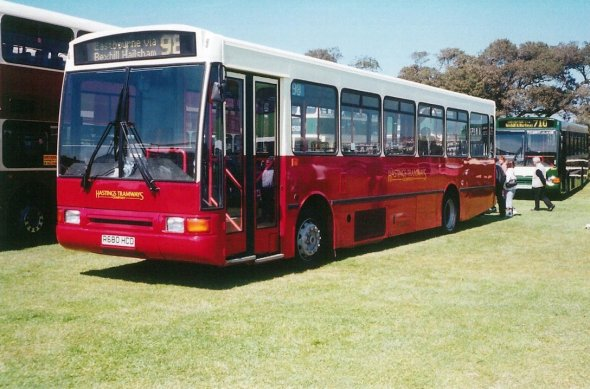 Stagecoach Volvo B10M Plaxton Paladin Hastings Rally 5-2005