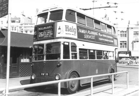 Trolley 20 AEC service 26