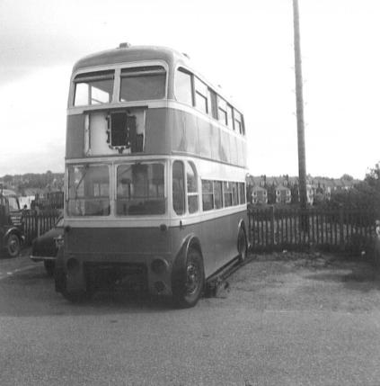 Trolley 51 LCD51 front @ Bexhill West 7-5-1967