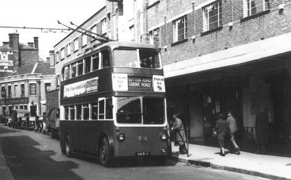 Trolley 72 Sutton Rd serv in Maidstone